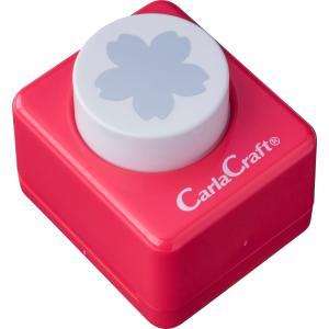 カール事務器  ミドルサイズクラフトパンチCP-2サクラ|tag