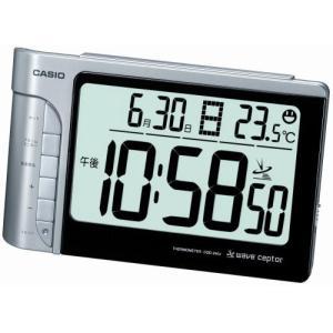 CASIO (カシオ) 目覚し時計 WAVE CEPTOR ウェーブセプター デジタル 電波時計 温...