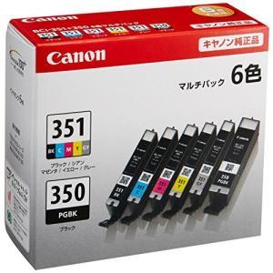Canon インク カートリッジ 純正 BCI-351(BK/C/M/Y/GY)+BCI-350 6色マルチパック BCI-351+350/6MP|tag