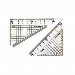 クツワ メタクリル三角定規 HA120(10セット)