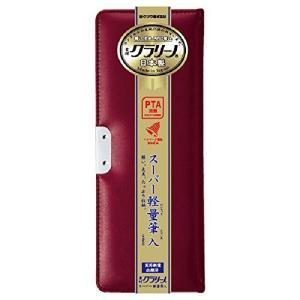 クツワ マグネット筆箱 クラリーノ CX134 1ドア リアルレッド|tag