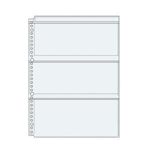 コレクト 透明ポケット3 A4-L 30穴 S-8430|tag