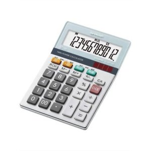 シャープ 実務電卓 グリーン購入法適合モデル ミニナイスサイズタイプ 12桁 EL-M712KX|tag