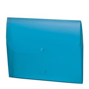 セキセイ セマック 薄型ドキュメントホルダー A4 ブルー MA-3358-10(10セット)|tag