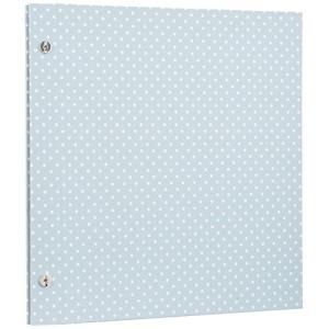 SEKISEI アルバム スクラップ ハーパーハウス ミニフリー クラフトアルバム クラフト台紙20ページ 11~20ページ 布貼り ブルー XP-3610 XP-3610-10 tag