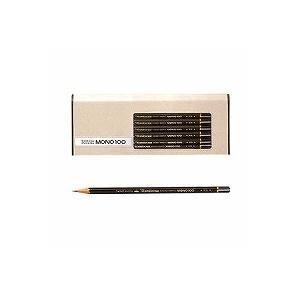 トンボ鉛筆 鉛筆 モノ100 F MONO-100F 1ダース