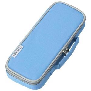 特徴: 外側にもポケットがついて収納力抜群。持ち運びやすい軽量タイプの箱型筆入れです。   ◆材質:...