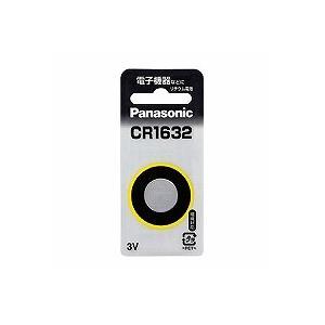Panasonic コイン形リチウム電池 CR-1632|tag