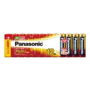パナソニック 単3形アルカリ乾電池 12本パック LR6XJ/12SW|tag