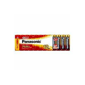 パナソニック 単3形アルカリ乾電池 12本パック LR6XJ/12SW(10セット)|tag