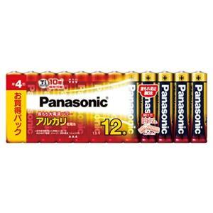パナソニック 単4形アルカリ乾電池 12本パック LR03XJ/12SW|tag