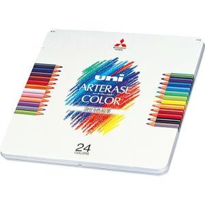 三菱鉛筆 色鉛筆 ユニ アーテレーズカラー 24色セット UAC24C