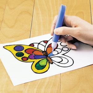 ヤマト 画材 グラスデコ 12色 10.5ml×12カラー イラスト、フィルム付き GDS12TN|tag|03
