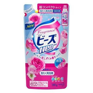 フレグランスニュービーズNeo 衣料用洗剤 液体 花のしずくの香り つめかえ用 360g(10セット)|tag