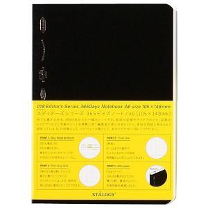 ニトムズ ノート STALOGY 365Days Notebook A6 S4103|tag