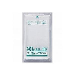 クラフトマン ゴミブ黒 透明 90LX10枚