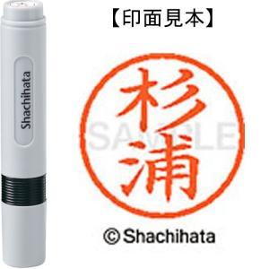 シヤチハタ ネーム6既製 XL-6 1317 杉浦 4974052448706