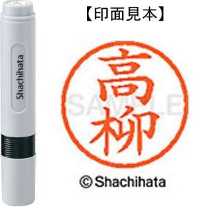 シヤチハタ ネーム6既製 XL-6 1384 高柳 4974052450761