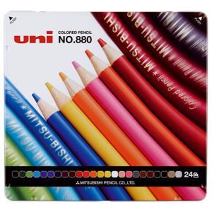 三菱鉛筆 色鉛筆880 K88024CP 24色セット 4902778973820