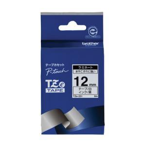 ブラザー 文字テープ TZe-231白に黒文字 12mm 4977766701877|tag