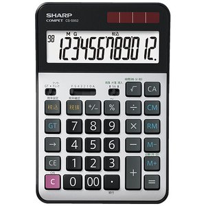 シャープエレクトロニクスマーケティング 大型卓上電卓 12桁 CS-S952-X 4974019761435|tag