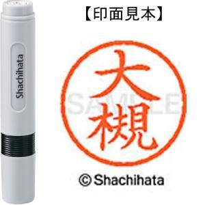 シヤチハタ ネーム6既製 XL-6 0502 大槻
