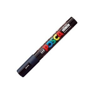 三菱鉛筆 ポスカ PC5M.9 中字 ネイビーブルー