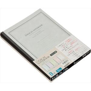 Nakabayashi(ナカバヤシ)ロジカルノートB9クラシック/B罫5冊パック  ノ−B507B−5P|tag