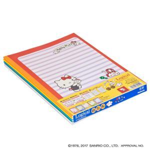 【Tポイント10倍!】ナカバヤシ ロジカルノート B5 A罫 5冊パック ハローキティ 学習帳 ノS-82A-5P tag