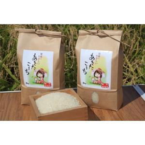新米 玄米 ポイント消化に 特別栽培米あきたこまち 秋田県大潟村産 2kg taguchi-farm
