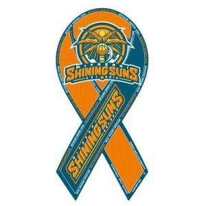 リボンマグネット RibbonMagnet 宮崎シャイニングサンズ MIYAZAKI SHINIGSUNS bjリーグ バスケットシリーズ メール便で送料無料|tahiti-surf