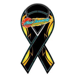 リボンマグネット RibbonMagnet 高松ファイブアローズ TAKAMATSU FIVE ARROWS bjリーグ バスケットシリーズ メール便で送料無料|tahiti-surf