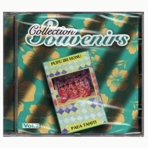 タヒチアンCD Collection Souvenirs vol.2/PUPU IRI HONU ・PAEA TAHITI セール!無くなり次第終了 クロネコDM便で送料100円|tahiti-surf