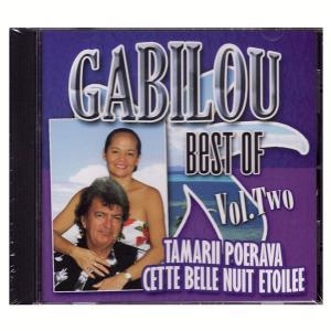 タヒチアンCD GABILOU Best of Vol.2 ガビルー ベスト版2 クロネコDM便で送料100円|tahiti-surf