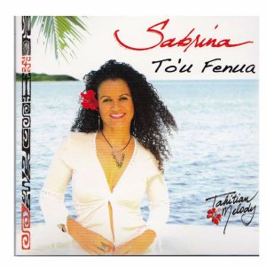 タヒチアンCD  Sabrina To'u Fenua サブリナ  タヒチアンメロディー ミュージック クロネコDM便で送料100円|tahiti-surf