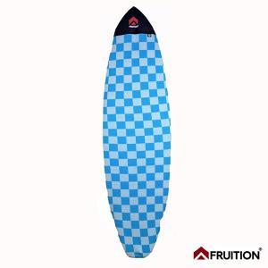 サーフボードケース Fruition ニットケース 6'6/198cm BLOCK ブルー ショートボードサーフケース|tahiti-surf