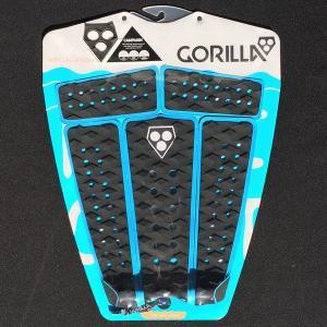 サーフィン用デッキパット ゴリラグリップ GORILLA GRIP Campaign Black Blue  キャンペーン ブラック Tail Pad デッキパッチ surf サーフィン tahiti-surf