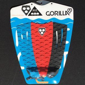 サーフィン用デッキパット ゴリラグリップ GORILLA GRIP   Mojo 3 Way   Tail Pad デッキパッチ surf サーフィン tahiti-surf