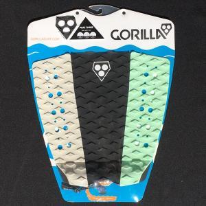 サーフィン用デッキパット ゴリラグリップ GORILLA GRIP Phat Three 3 Way Tail Pad デッキパッチ surf サーフィン tahiti-surf