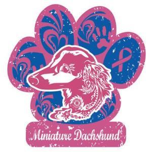 セール リボンマグネット パウリボン HAPPY DOG ダックスフンド Lサイズ ドッグシリーズ レトロハワイ風 盲導犬 メール便で 送料無料  tahiti-surf