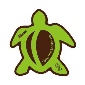 ホヌリボンマグネット ホヌ型  ブラウン / グリーン S-size  RibbonMagnet 亀 メール便で送料100円|tahiti-surf
