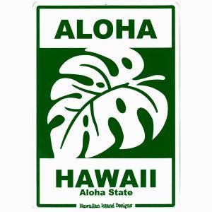 Hawaiian Sign Board ハワイアンサインボード ALOHA HAWAII 看板 ハワイアン雑貨 |tahiti-surf
