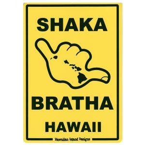 Hawaiian Sign Board ハワイアンサインボード SHAKA 看板 ハワイアン雑貨 |tahiti-surf