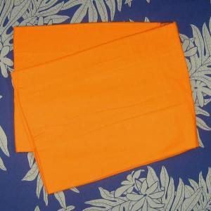 パレオ 無地 オレンジ PAREO 柄なし タヒチアンダンス 衣装 ポイント2倍|tahiti-surf