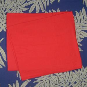 パレオ 無地 赤 レッド PAREO 柄なし タヒチアンダンス 衣装 ポイント2倍|tahiti-surf
