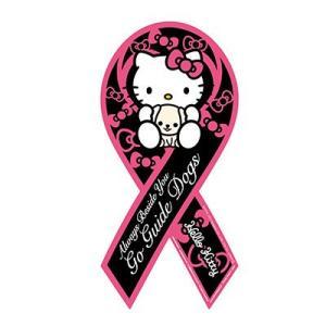 リボンマグネット RibbonMagnet ハローキティ リボン 盲導犬育成支援 Hello Kitty クロネコDM便で送料無料 レビューを書いてポイント3倍 |tahiti-surf