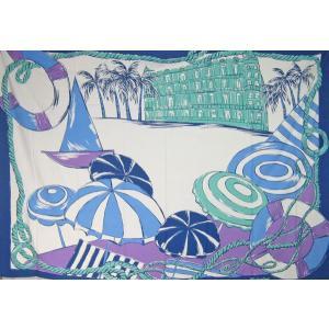 Mahealani パレオ ターコイズブルー RブロードPTパレオ マヘアラニ タヒチアンダンス  PAREO フラダンス |tahiti-surf