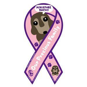 リボンマグネット RibbonMagnet ドッグシリーズ ミニチュアダックス MINIATURE DACHS ピンク 犬 売上の一部が募金に メール便で送料無料 |tahiti-surf