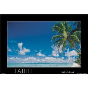 セール品 タヒチ・ポスター(タヒチ)|tahiti-surf