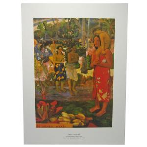 セール品 ポールゴーギャンポスター(PAUL GAUGUM) Ia orana maria|tahiti-surf